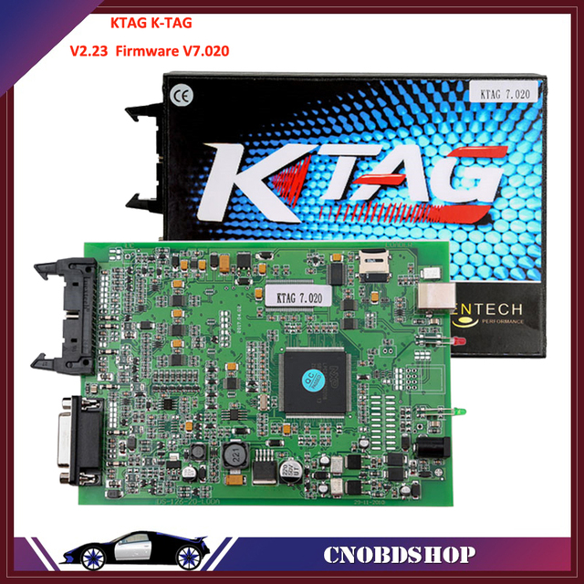 2017 Newest V2.23 KTAG K-TAG ECU Programming Tool Firmware V7.020 Master Version with Unlimited Token