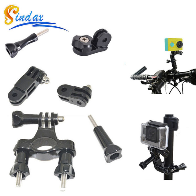 For Gopro Bike Holder Adapter Set Handlebar Mount Camera Sj4000