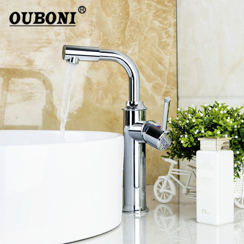 Tall Swivel Chrome Kitchen Basin Sink Mixer tap Deck Mounted Single Handle Sink Kitchen Torneira Cozinha Tap Mixer Faucet 8471 4 single handle cold stream deck mount single handles wash basin sink vessel kitchen torneira cozinha tap mixer faucet