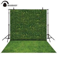 Allenjoy fotoğraf arka planında doğa yeşil yapraklar duvar çim portre sahne fotografik arka planlar photocall photo booth