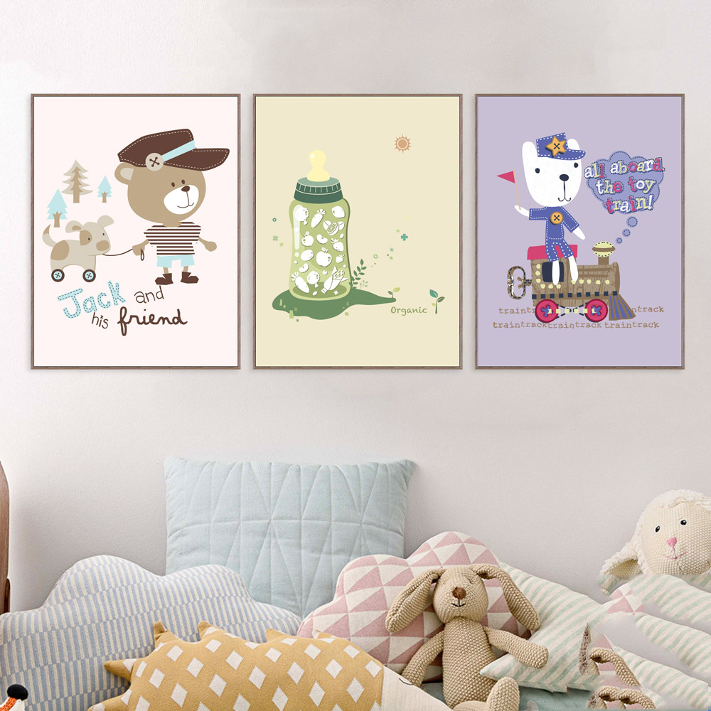 Pittura per camerette bambini decorazioni per pareti stencil e pittura decorazioni per le - Pittura per cameretta ...