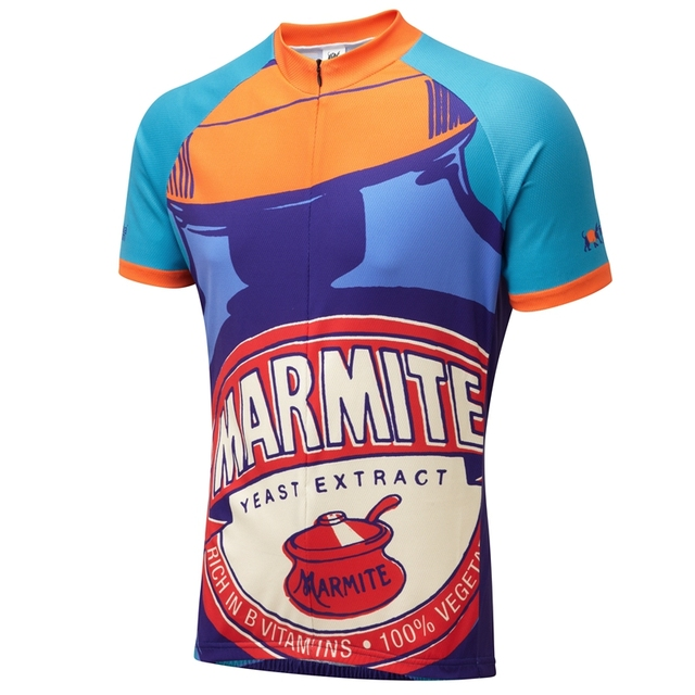 Marmite Retro Road Cycling Jersey Men 2018 Classic Cycle wear MTB riding clothing  city bike racing clothes Outdoor sport shirt 10ac62fed