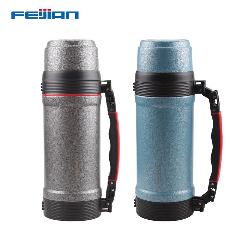 FEIJIAN 2000 ml Isoler Thermos Thermo tasse Thermos tasse à Café inox bouteille thermique Termos Thermocup fiole À Vide
