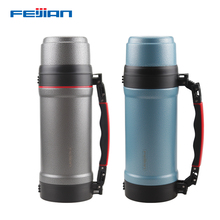 FEIJIAN 2000ML Insulate Thermos Thermo mug Thermos Coffee cup Stainles steel thermal bottle Termos Thermocup Vacuum flask 2000ml glass soxhlet extractor bottom joint 24 29 condenser and extractor body with 2000ml flask