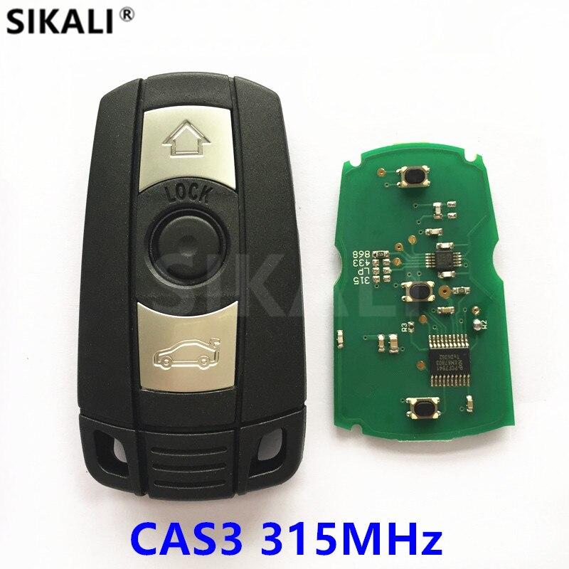 Chave remota para BMW CAS3 Sistema 315 MHz FSK para X5 X6 Z4 1/3/5/7 séries Chave Do Veículo Inteligente