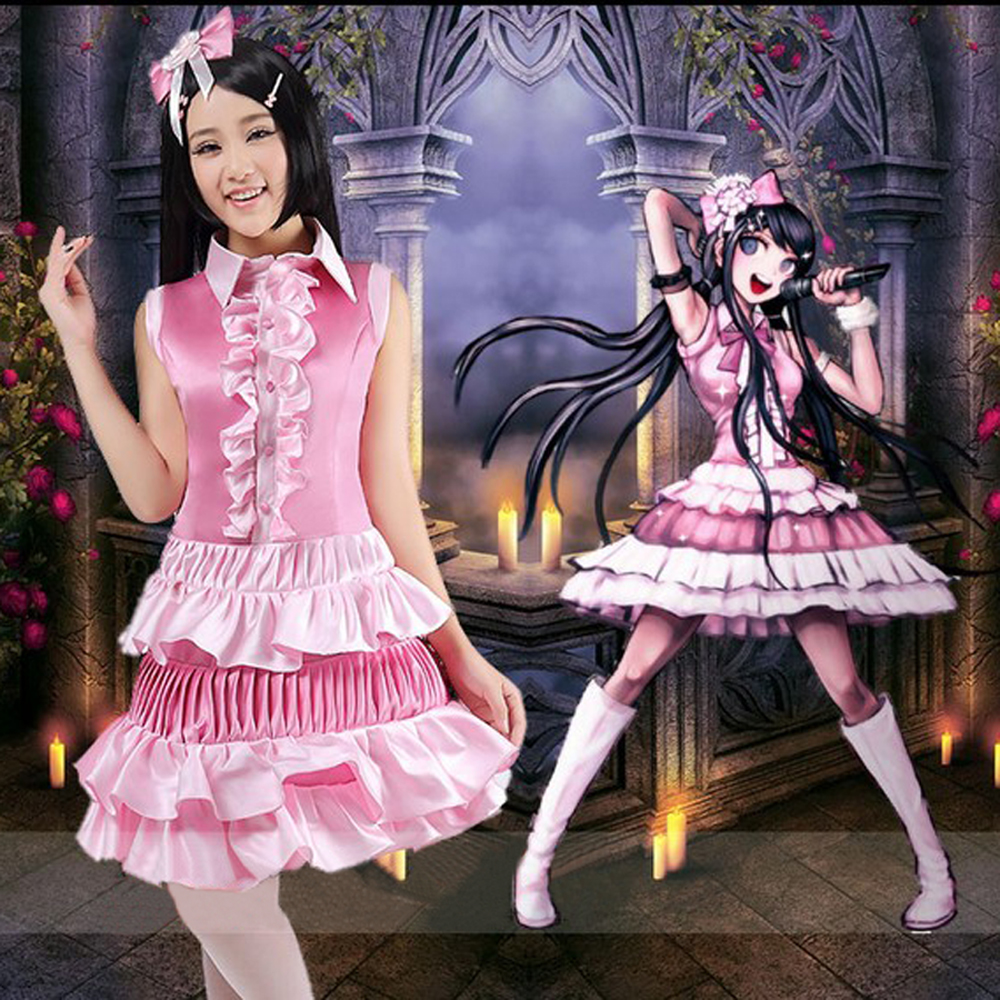 Anime Danganronpa Dangan Ronpa cosplay costume Maizono ...