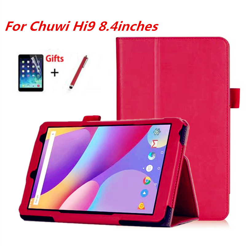 Genteel Official Original Hi9 Hi 9 8.4 Pu Leather Cover For Chuwi Hi9 Hi 9 8.4inch Android 7.0 Mtk 8173 With Hand Wrist And Card Slot Choice Materials Tablets & E-books Case