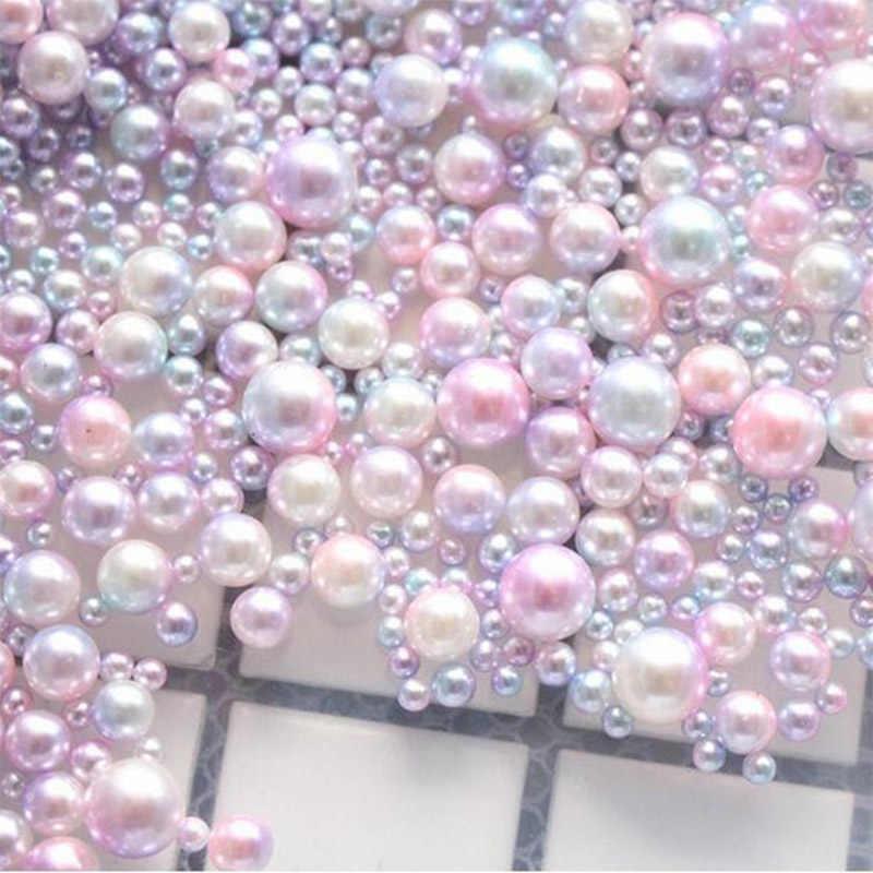 20 g/lotto UV FAI DA TE Particelle di Perle Accessori Slime Palle Piccolo Piccolo Perle di Schiuma Per Floam di Riempimento Per Slime Forniture FAI DA TE 3-8mm