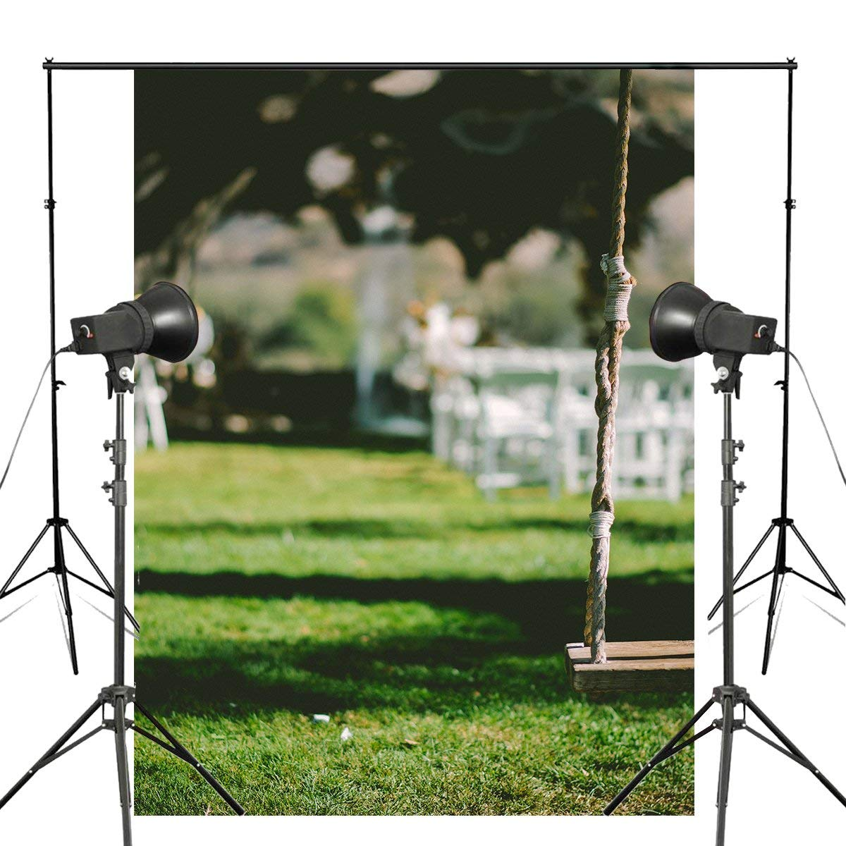5x7ft Swing Backdrop Photography Background Wall Mural Studio Props