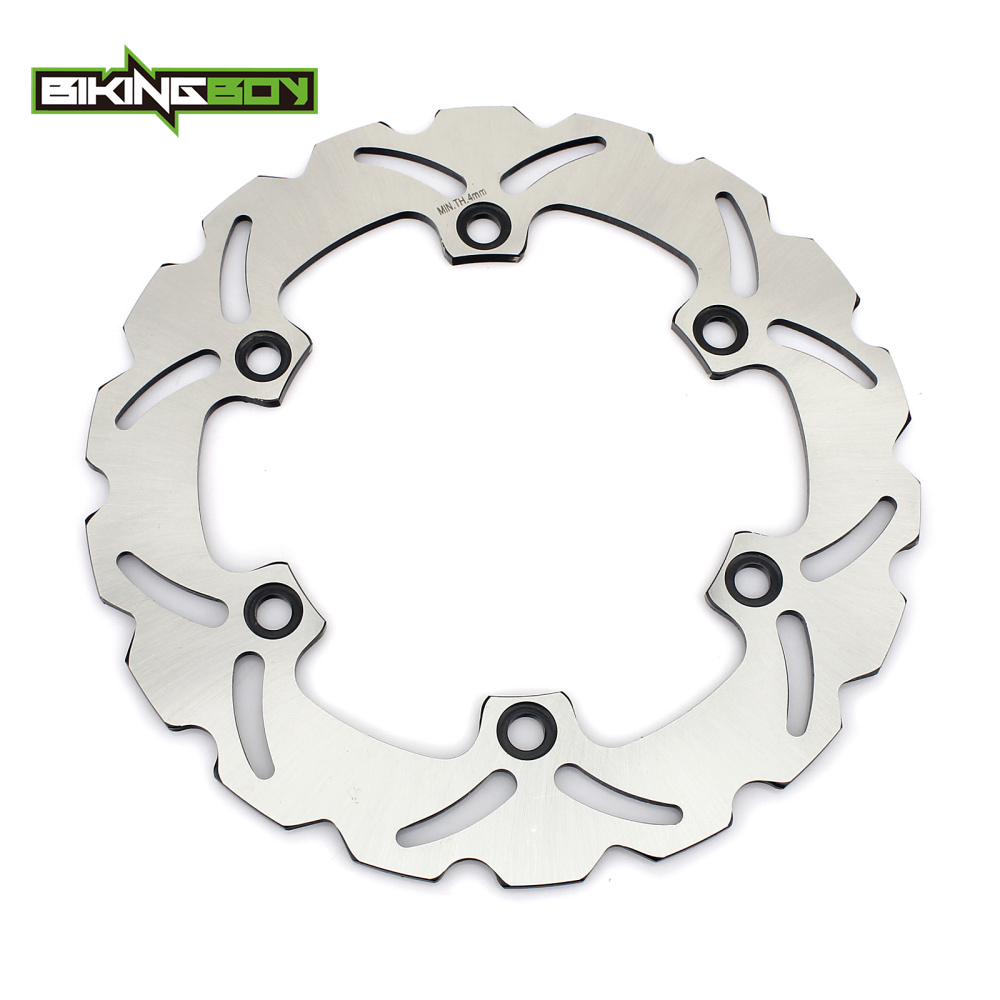BIKINGBOY Rear Brake Disc Rotor Disk For Honda VFR 750 F Interceptor 1986 1987 1988 1989 CBR 1000 F 93-97 SH 300 / ABS 2006-2015