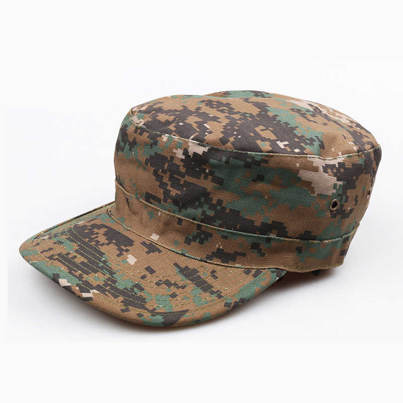 Unisex camuflaje táctico militar sombrero ejército Ranger RipStop soldado gorra caza gorras sombreros de combate para deportes al aire libre