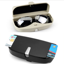 827f0bb508e JINGHANG Universal Car styling sun glasses case box for Chevrolet Cruze  Trax Aveo