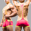 Men shapers sexy Singlet Unitards Lingerie Underwears  Man Body Shaper Bodysuit Wrestling Leotard Board Beach  Swimwear