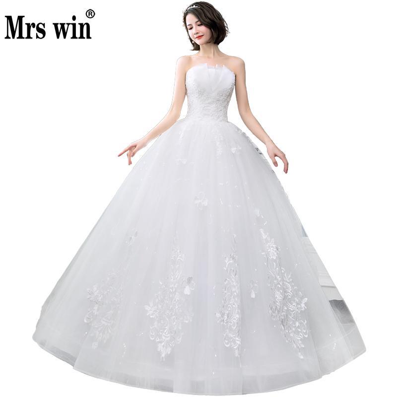 White Wedding Dress With Black Flowers: Aliexpress.com : Buy New 2018 Sexy Strapless Wedding Dress