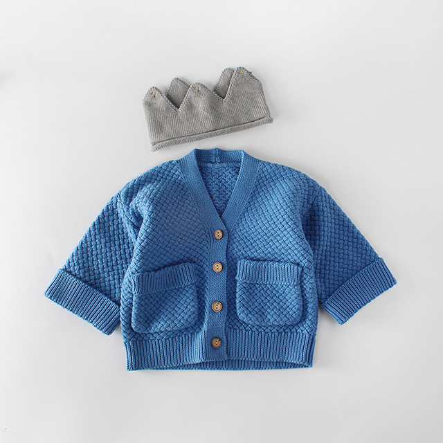 369ec49c6 2018 fashion baby boy clothes long sleeve baby Cardigan Sweaters ...