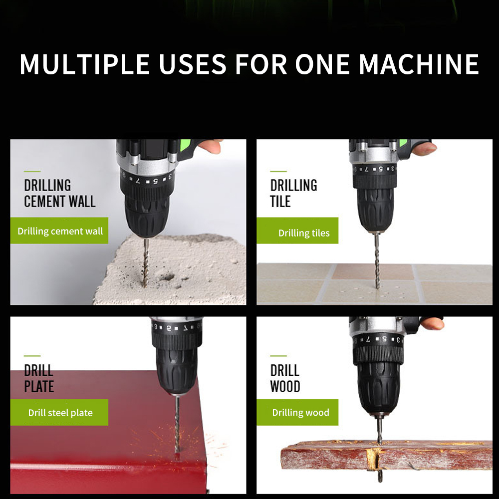 impacto ferramentas elétricas drill eletrico furadeira eletrica