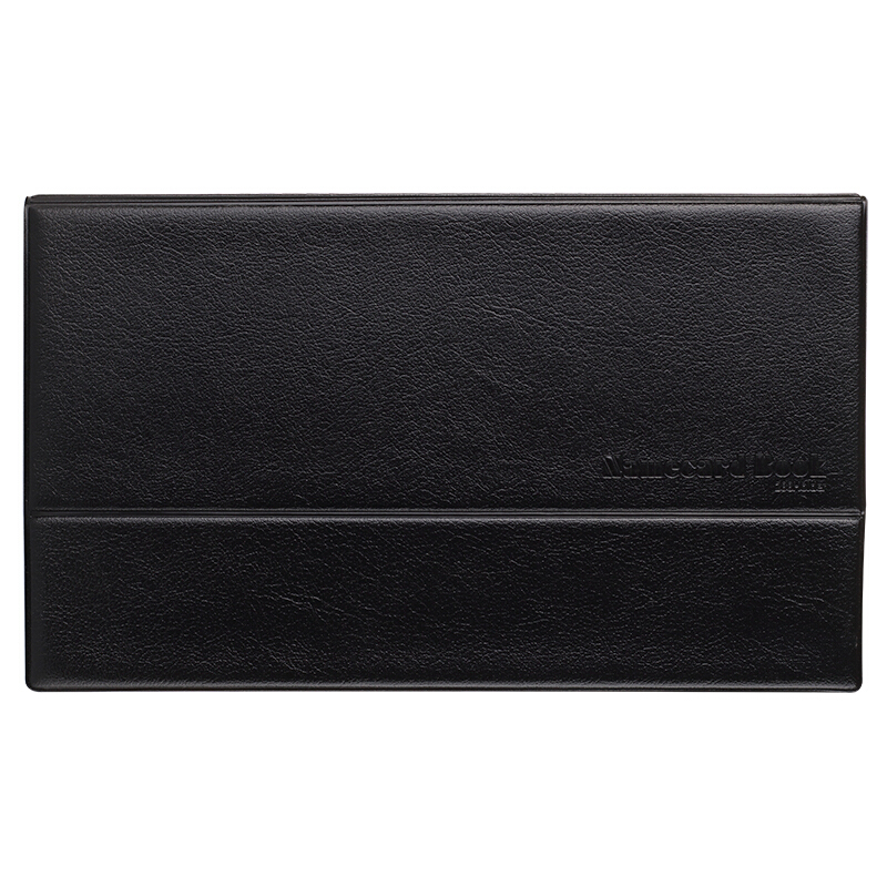 Comix 180 Pieces PVC Leather Business Card Holder Journal Name Card Book Office Supplies Stationery (NC288)