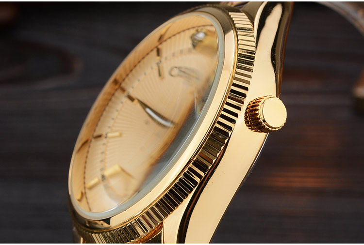 CHENXI Golden Watch Men Watches classical Luxury Famous Wristwatch Male Clock Quartz Wrist Watch Calendar Relogio Masculino in Quartz Watches from Watches