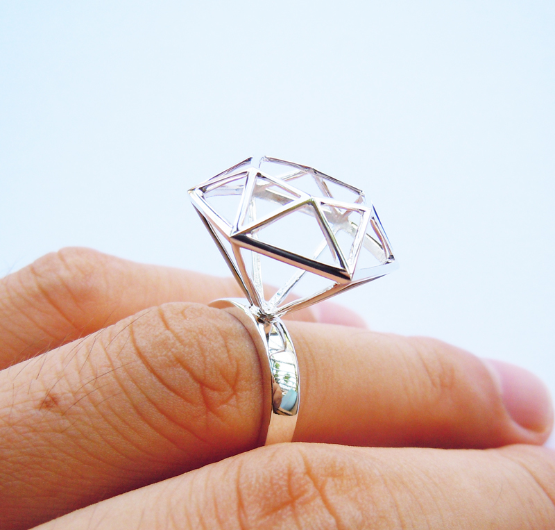 Wellmade Solid 925Sterling Silver Star Shape Ring цена и фото