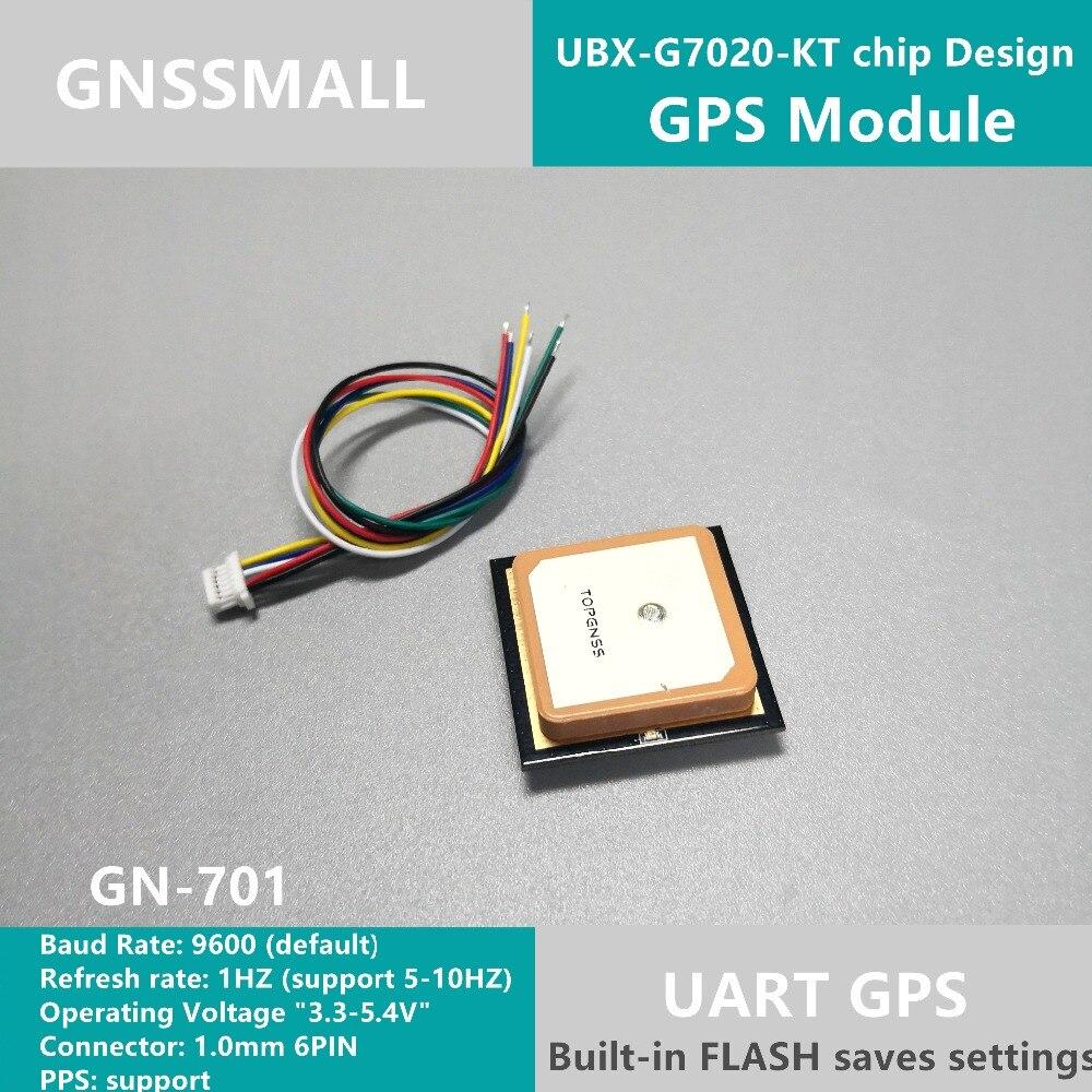 10PCS High quality 51 single chip GPS module antenna UART TTL level GPS chipset GPS Module