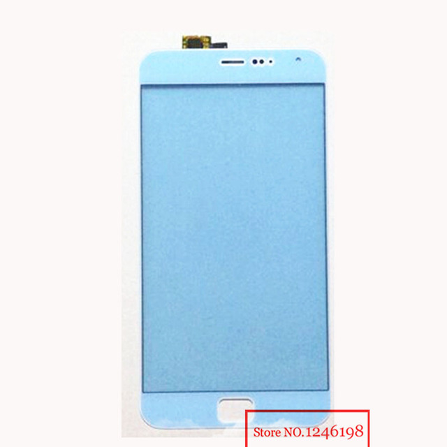 """Best Work New White 5.5"""" Touch Screen Digitizer for Meizu MX4 Pro Front Glass lens touch panel Replacement Sensor"""