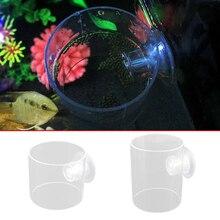 High quality Aquarium Fish Feeding Ring Tank Feeder Circle fish food granules float on water feed aquarium tools