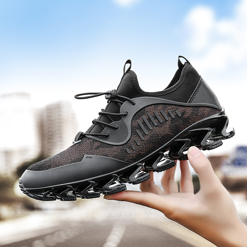 ZENVBNV Super Cool breathable Running shoes men sneakers bounce Summer outdoor sport shoe Professional Training shoe Plus Size46