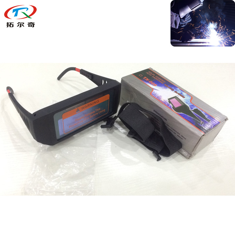 Welding Goggle Welding Mask Chameleon Filter Lens Dimming Darkening Automatic Tig Electric Mascara Best Quality TRQ-AG01-1100