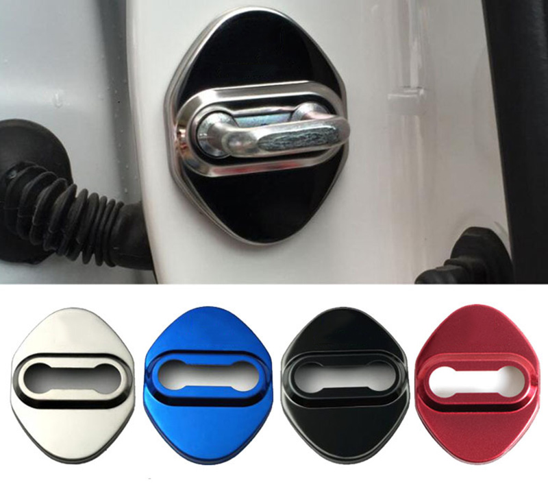 Free Shipping Door Lock Cover Caps Protective Car Styling For Honda Accord Odyssey FitSaloon CRV HRV