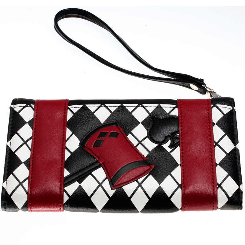 Harley Quinn wallet women purse DFT-2003