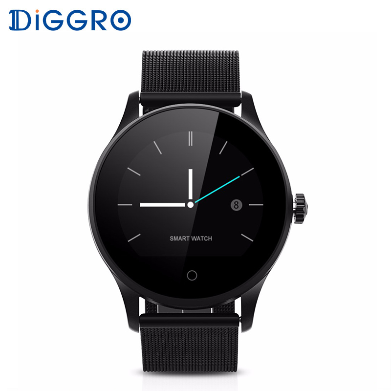 Diggro Smarcent K88H Smart Watch Heart Rate Monitor Wristwatch Bluetooth Dialing Fitness Tracker Smartwatch For Android IOS diggro di03 smart watch ip67 heart rate monitor pedometer fitness tracker bluetooth smartwatch sleep monitor for ios