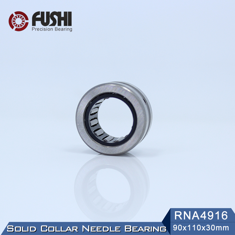 RNA4916 Bearing 90*110*30 mm ( 1 PC ) Solid Collar Needle Roller Bearings Without Inner Ring 4624916 4644916/A Bearing nk25 30 needle roller bearing without inner ring size 25 33 30mm
