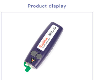 Image 3 - จัดส่งฟรี 10 mW มือถือ Visual Fault Locator/VFL/เส้นใย Break Checker,ปากกาเส้นใย cheaker สามารถทดสอบ 12KM