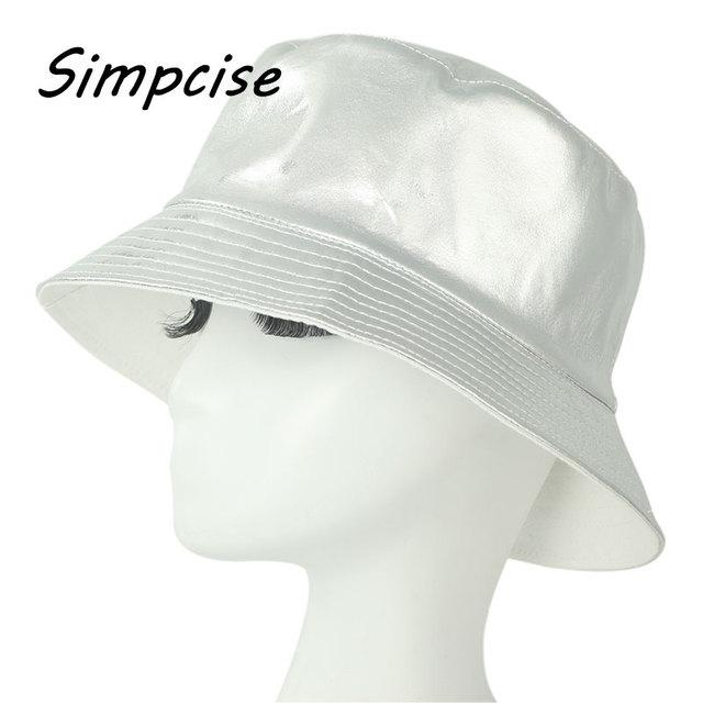 Simpcise Bucket cap Man Women UV Rain Hat Bob Caps Plain Color Outdoor  Sports Summer ladies Beach Sun Fishing Bucket Hats ZZ4016 f24447b481f
