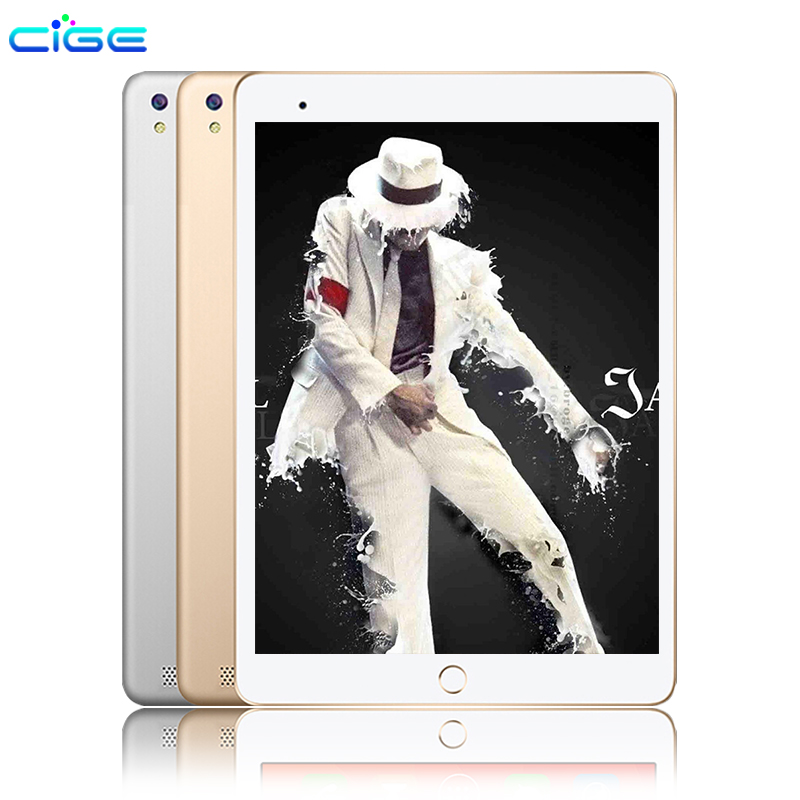 CiGe 10.1 inch Original 3G Phone Call SIM card Android 6.0 Octa Core CE Brand WiFi FM Tablet pc 4GB+64GB Anroid Tablet Pc