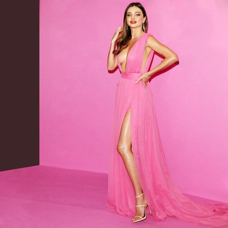 Erfreut Hot Pink Lange Prom Kleider Zeitgenössisch - Brautkleider ...