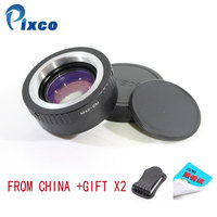 Pixco For EF EOS M Focal Reducer Speed Booster Turbo Adapter Suit For M42 Lens to Canon EOS M M6 M5 M10 M3 M2 M for Dropshipping