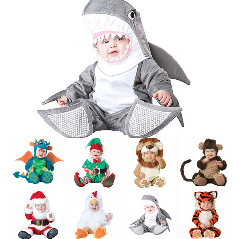 Baby Clothes Christmas Xmas Baby Triceratops Costume