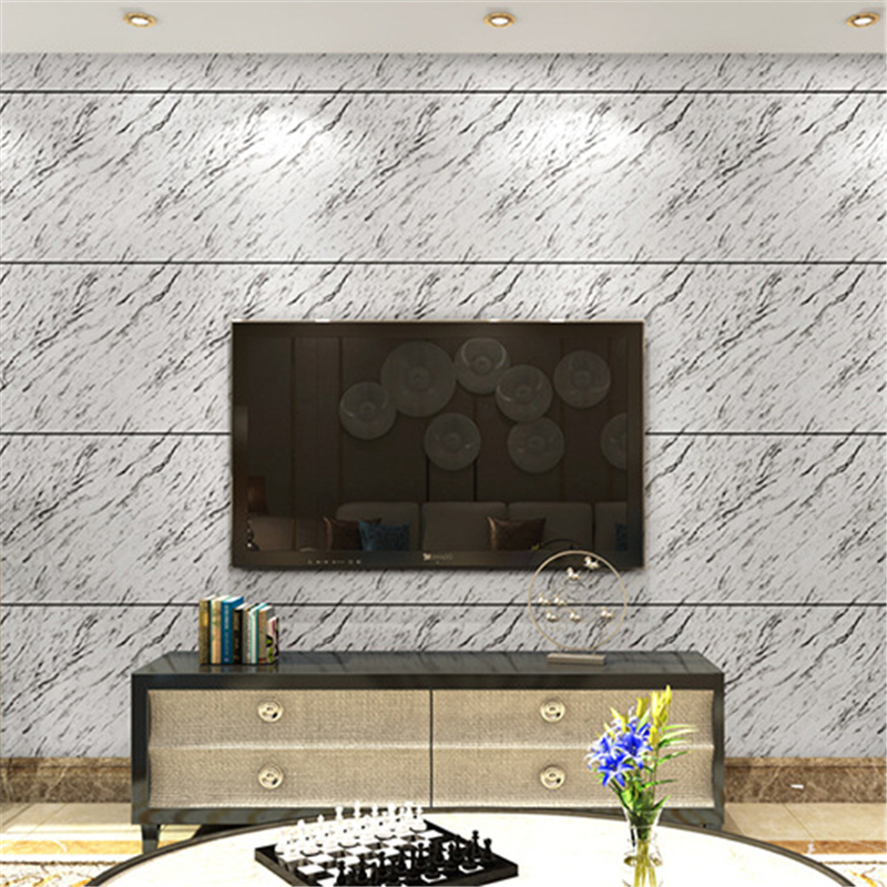 beibehang PVC marble papel parede TV Background Wallpaper For Living Room Bedroom 3D mural Wall paper Roll Desktop contact-paper
