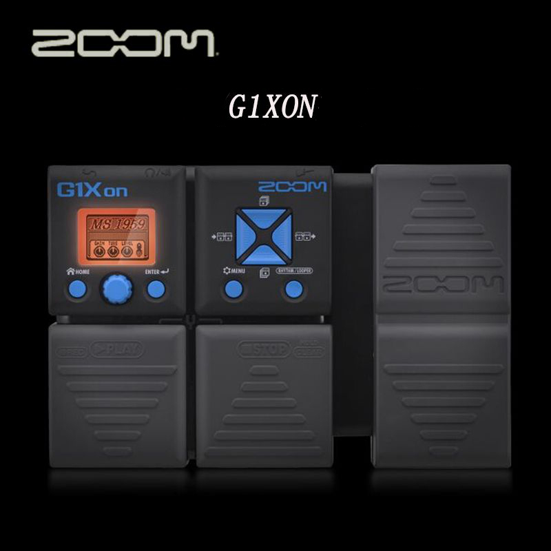 zoom g1on g1xon electric guitar multi effects guitar distortion pedal free shipping in guitar. Black Bedroom Furniture Sets. Home Design Ideas