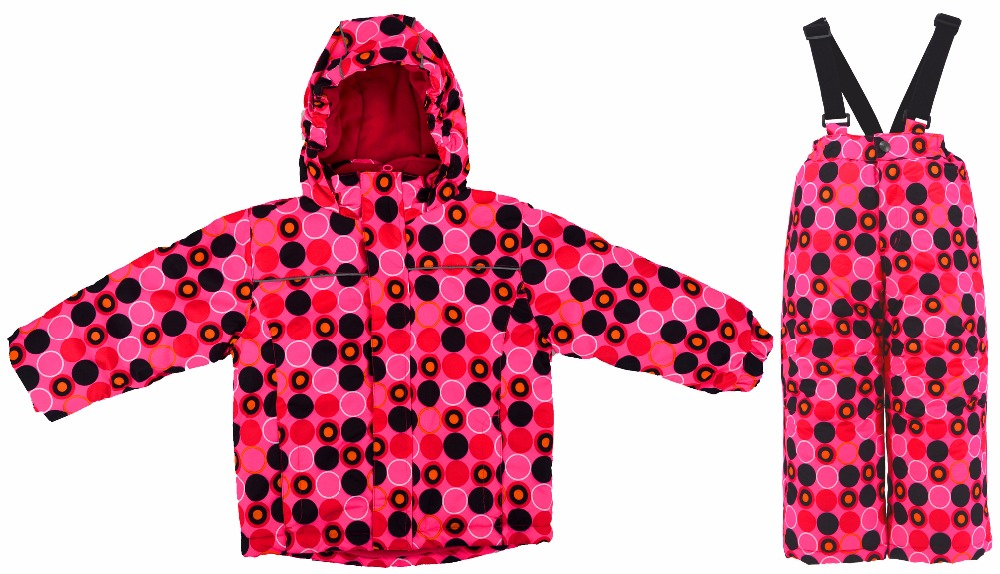 Boys and girls thick winter cold windproof ski two-piece children's jacket warm clothes windproof rain and velvet suitvelvet children autumn and winter warm clothes boys and girls thick cashmere sweaters