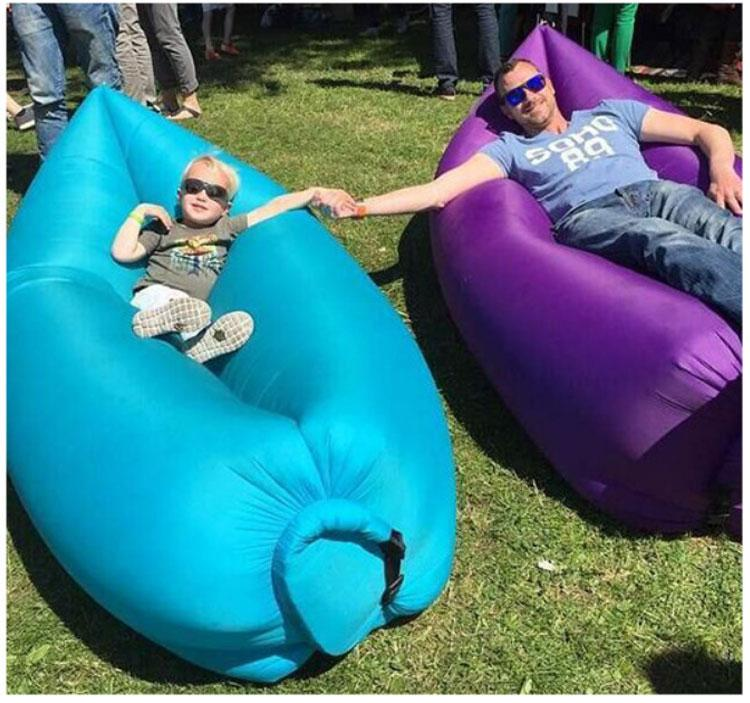 Bean Bag Air Inflatable Beanbag Sofa Chair Living Room Cushion Outdoor Self Inflated Furniture