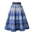 2016 Mulheres Saias de Cintura Alta Midi Saia de Inverno de Espessura Outono Uma Linha Femme Jupe Saias New Faldas