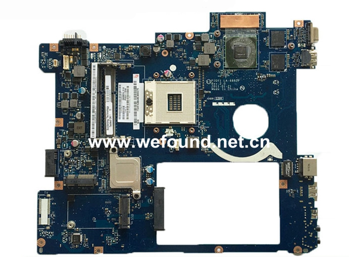 laptop Motherboard For lenovo Y570 LA-6882P System Board Fully Tested