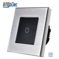 EU UK Standard Luxury Modern Design 90seconds Wall Delay Switch Wall Timer Switch
