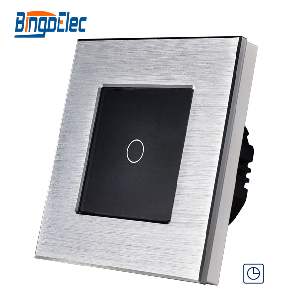 EU/UK standard Luxury Modern design 90seconds Wall Delay switch,Wall Timer Switch suck uk