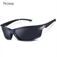 Ywjanp Men Polarized Army Goggles Sports Driving Sunglasses UV400 Fish