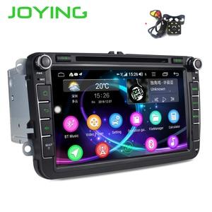 Image 1 - Radość Android 8.1 radio samochodowe 2 din autoradio wsparcie 4G Octa Core 4GB + 64GB dla Volkswagen/Seat/Skoda DSP free camera