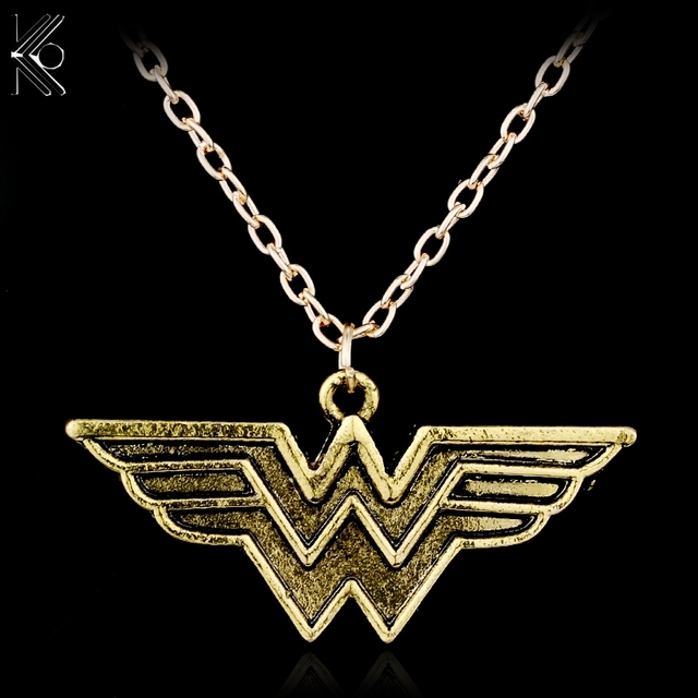 Freeshipping wonder woman pendant necklace gold maxi statement freeshipping wonder woman pendant necklace gold maxi statement jewelry super wonder hero accessory long necklaces aloadofball Image collections