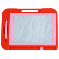 5pack Red Pink Plastic Frame Magnetic Writing Drawing Board